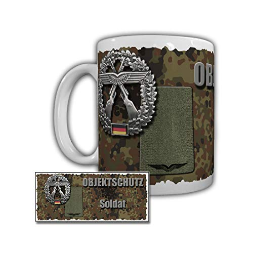 Objektschutz Soldat Friesland Schortens Rangabzeichen BW S Tasse #29224