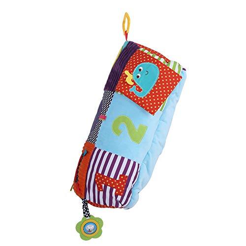 Alfombra para bebé, números claros, multifuncional, color brillante con campana, alfombra para bebé, juego familiar de 6 meses a 2 años(Climbing mat)