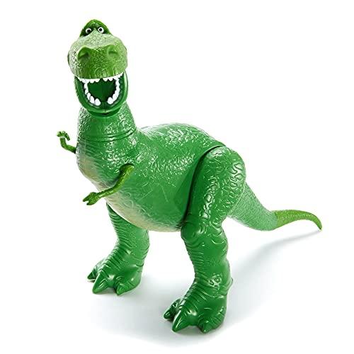 Disney Pixar Toy Story Figurine articulée Rex, taille fidèle au film pour rejouer les scènes du film, jouet pour enfant, GFV32