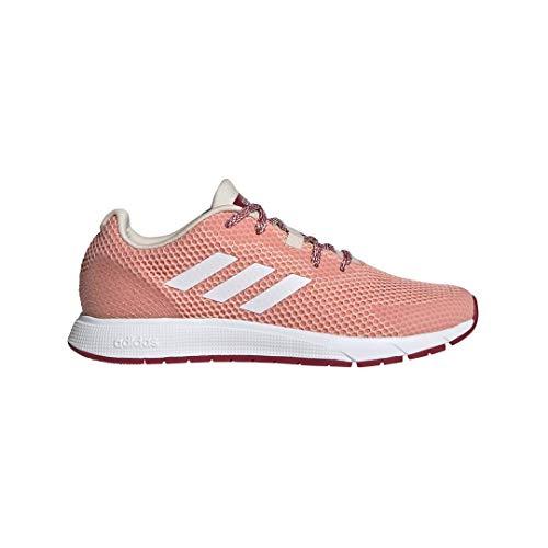 adidas Damen Sooraj Turnschuh, Leuchtende Pink/Weiß/Halbkoralle, 36 EU
