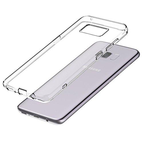 itronik TPU Hülle für Samsung Galaxy S8 Plus Schutzhülle Crystal Hülle Durchsichtig Klar Silikon transparent