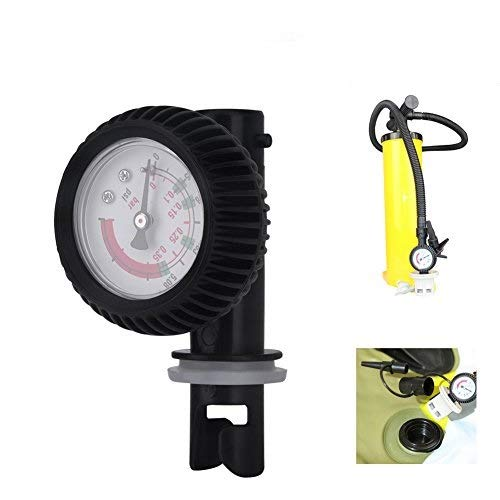 Vbestlife Kayak Barometer Nylon Inflatable Boat Air Pressure Gauge Barometer for Kayak Raft