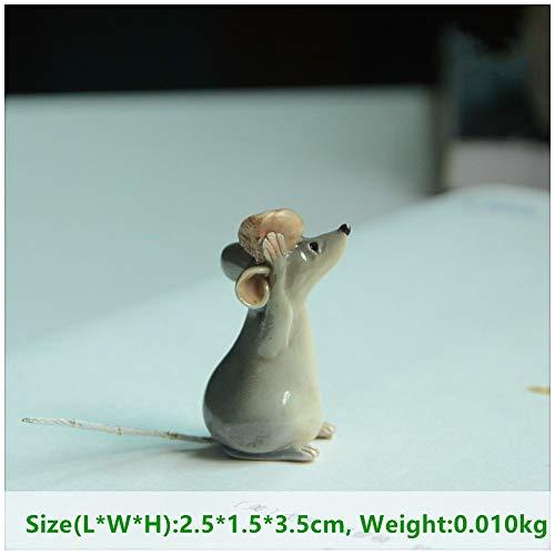 LASISZ Hars muis muizen rat cartoon acton figuur fee tuin miniaturen Terrarium decoratie & Tafelblad decoratie