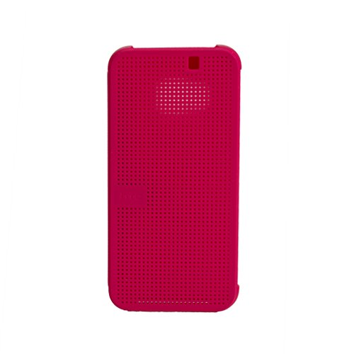 HTC Dot View Case Schutzhülle für HTC One M9 candy floss