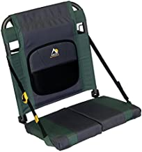 GCI Outdoor SitBacker Adjustable Canoe Seat with Back Support, Hunter