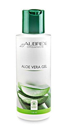 Aubrey Organics Aloe Vera Gel, 118 ml