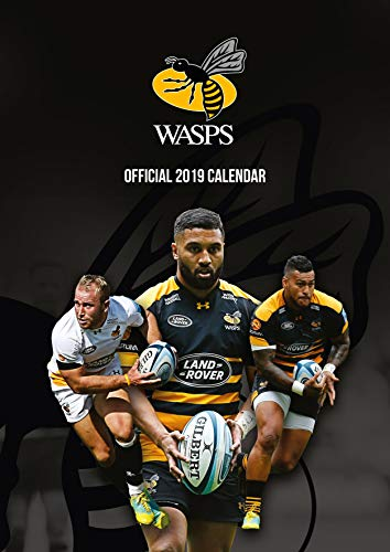 Wasps RFC Official 2019 Calendar - A3 Wall Calendar