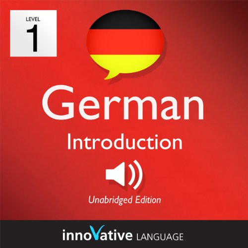 Learn German - Level 1: Introduction to German, Volume 1: Lessons 1-25 audiobook cover art