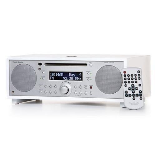 Tivoli Audio Music System Schneewittchen - Klavierlack weiß/Silber