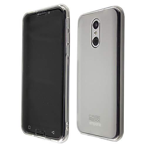 caseroxx TPU-Hülle für Emporia Smart 3, Handy Hülle Tasche (TPU-Hülle in weiß-transparent)