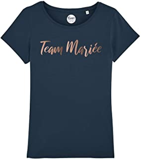 TSHIRT corner - Collection EVJF - Team Mariée - T-Shirt Enterrement de Vie de Jeune Fille