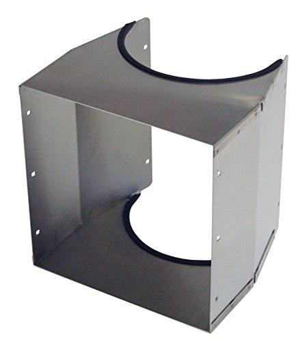 Wäscheschacht Schurre 30x30cm für KG-Rohr 250mm