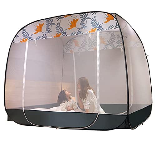 Mosquitera Mosquitera Doméstica para Cama Individual/Doble, Tienda Portátil De La Red De Mosquito Que Acampa, Mosquitera para Adultos/Niños (Size : 1.2x1.95x1.65m)
