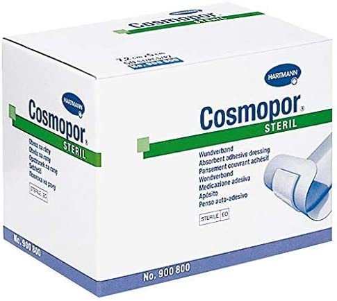 Cosmopor Adhesive Dressing 2 X 2-9 Rectangle 10 1 year warranty NonWoven Rare Wh Inch