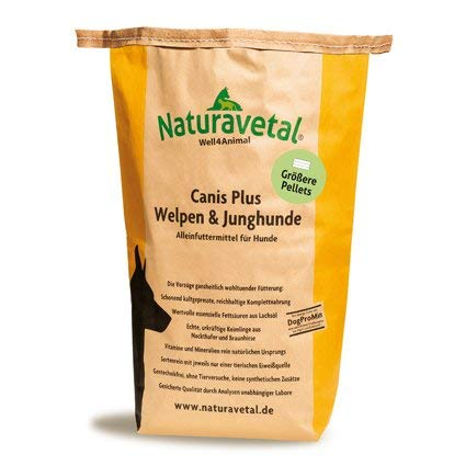 Naturavetal Canis Plus Welpen & JungHunde Hahnchen Puppy Huhn 1 kg