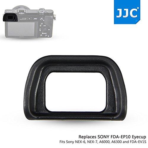 JJC ES-EP10 Conchiglia Oculare per Fotocamere SONY NEX-6, NEX-7 a6300 e a6000 e mirino elettronico FDA-EV1S Sostituisce Sony FDA-EP10