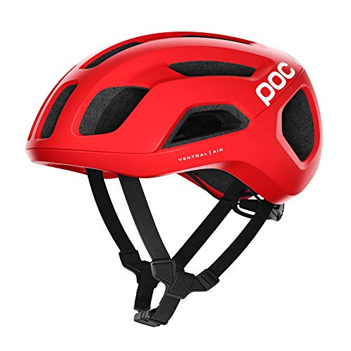 POC, Ventral Spin, Cycling Helmet, Prismane Red, Medium