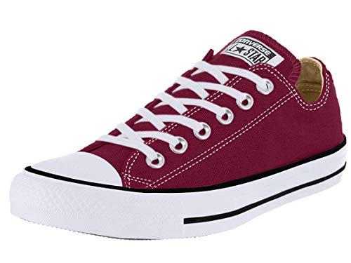 Converse Chuck Taylor All Star, Sneakers Unisex - Adulto, Rosso (Bordeaux), 38 EU