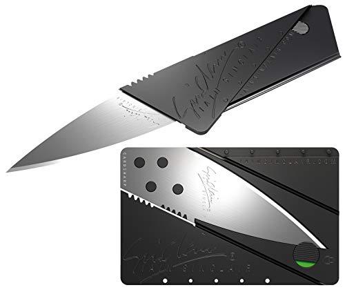 CARDSHARP 2 - Iain Sinclair - schwarz/blanke Klinge - neuestes Modell