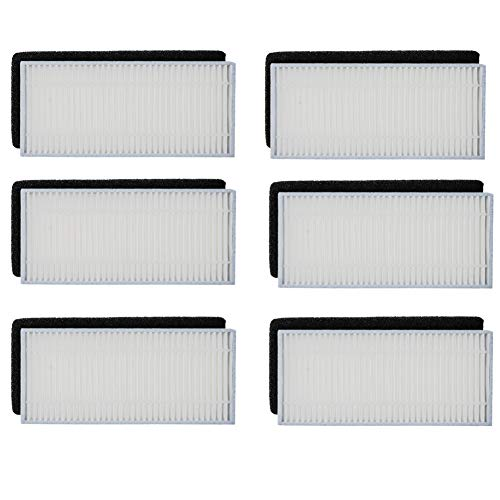 Amazing Deal HIFROM Replacement Filter Sponges Kit Accessories Set Replacement for Ecovacs DEEBOT N7...