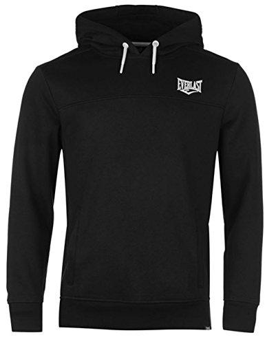 Everlast Kapuzenpullover Hoodie Hoody Sport Sweater Herren NEU bis 4XL (L, Schwarz)