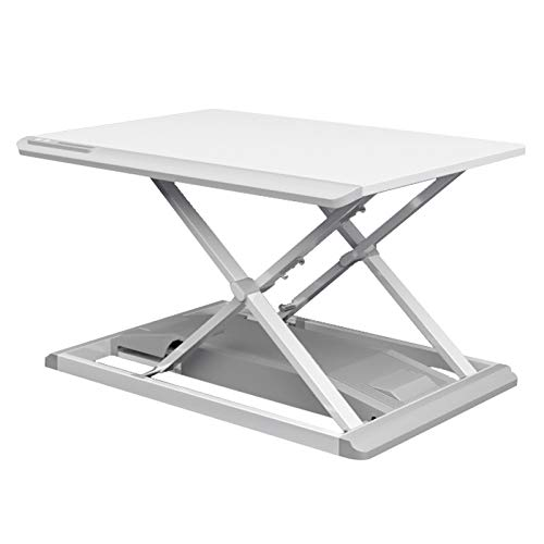 LGJ1201 Electric Sit-stand Desk Converter,Height Adjustable Sit-Stand Elevating Monitor Workstation With 68.2X50cm Platform,Desktop Laptop Table Converter