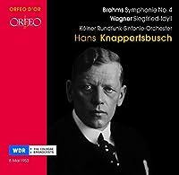 Brahms: Symphonie No.4 / Wagner: Siegfried Idyll (2007-11-27)