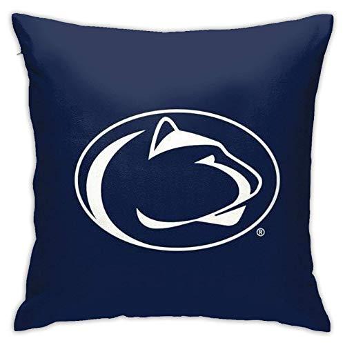 Lawenp Penn State University Throw Pillow Covers 18x18 Pulgadas Throw Pillowcase Funda de cojín para el hogar