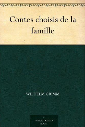 Couverture du livre Contes choisis de la famille