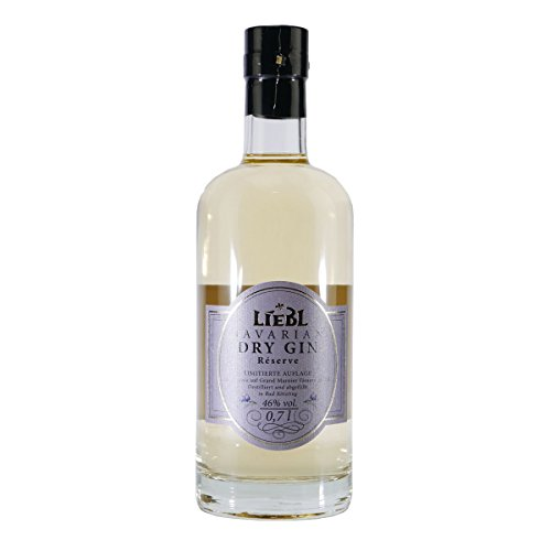 Liebl Bavarian Dry Gin Réserve - Grand Manier-Fassreifung