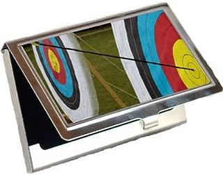 Archery Target Business Card Holder