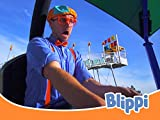 Blippi Visits an Amusement Park and Learns Colors