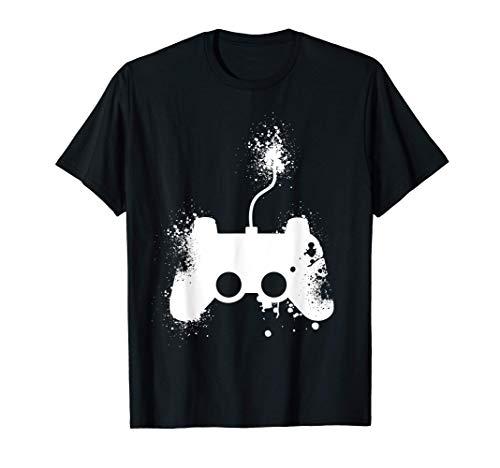 Vintage Gamepad | Gaming Kleidung | Zocken Zocker T-Shirt