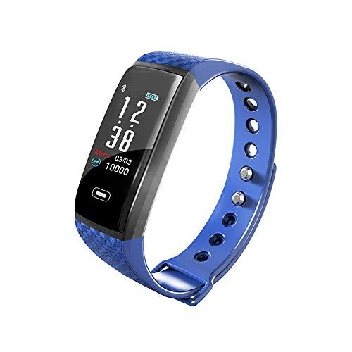 MIKLL Smartwatch,Fitness Orologio Tracker,Smartwatch Pressione Sanguigna Cardiofrequenzimetro Bluetooth Smart Watch IP68 Impermeabile Contapassi Tracker per Uomo Donna iOS Android