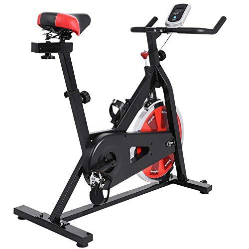 Profun Bicicleta Estática de Spinning Profesional, Ajustable Resistencia,...