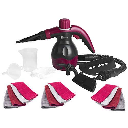 Kleeneze COMBO-6362 10-in-1 Handheld Steam Cleaner...