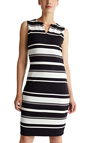 ESPRIT Collection Damen NOOS Dress Lässiges Business-Kleid, Schwarz, XXL