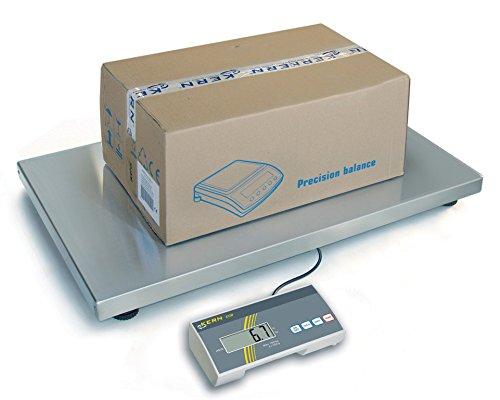 Balanza de paquetes y veterinarias con plataforma extra grande [Kern EOB 150K50XL] , Campo de pesaje [Max]: 150 kg, Lectura [d]: 50 g