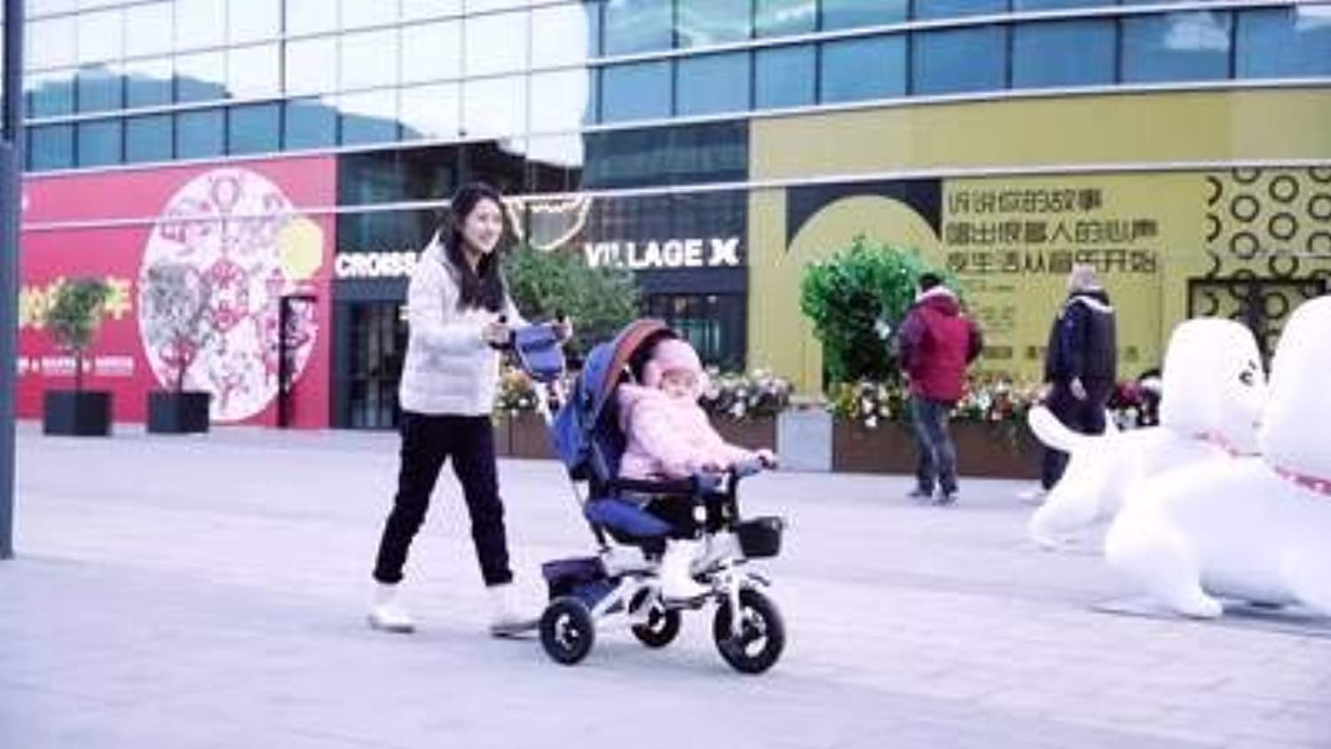 Artifact Slip Baby Tricycle Bicycle Baby Stroller Baby 147 Tuba Bike Stroller Quality Consumer Exposure