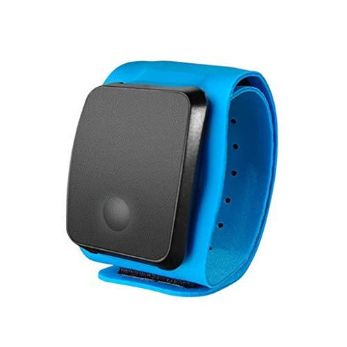 WT-DDJJK Monitor de frecuencia cardíaca, Brazalete Resistente al Agua, Monitor de frecuencia cardíaca Inteligente óptico con Banda Dual y Bluetooth