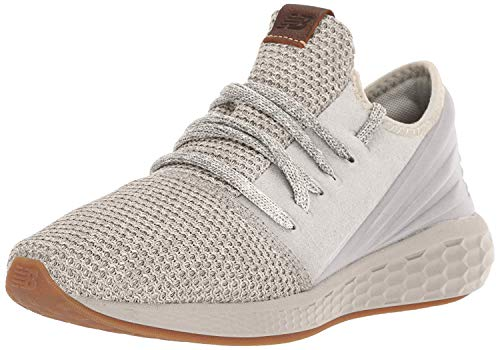 New Balance Men's Fresh Foam Cruz Decon V2 Sneaker, Moonbeam/Stone Grey, 15 W US