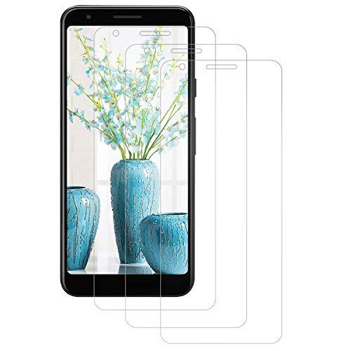 DASFOND Panzerglas Google Pixel 3A, [3 Stück] Schutzfolie für Google Pixel 3A, Ultra-klar, 9H Härte, Voller Schutz, Anti-Bläschen, Bildschirmschutzfolie für Google Pixel 3A