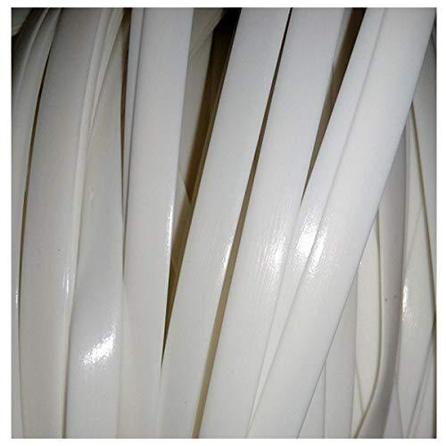 Queenbox 8 mm * 10 m Gradiente de Tejido de ratán Plano, reparación de ratán sintético Material de Punto Ratán de plástico para Muebles para el hogar de Bricolaje, Mesa de Silla, Cesta de alma
