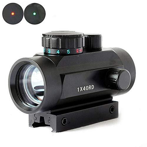 WMQ Vortex Optics Red Dot Sight, Visor holográfico 1 * 40 Visor láser de Punto Rojo Interno se Puede Ajustar hacia Arriba, Abajo, Izquierda y Derecha