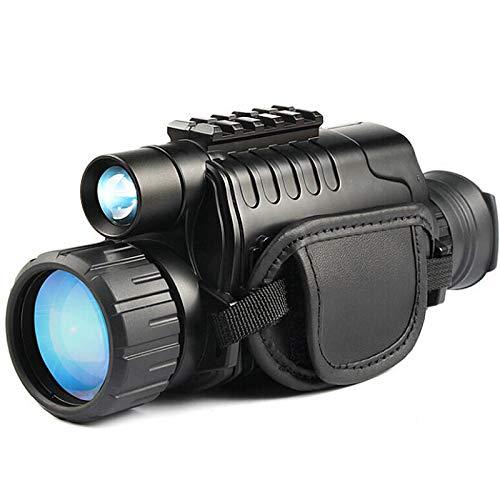 Tmand Monocular Infrarrojo de VisióN Nocturna 5X40 Zoom Gafas de VisióN Nocturna 200M Distancia ObservacióN Nocturna ObservacióN y DíA de Caza Digital IR