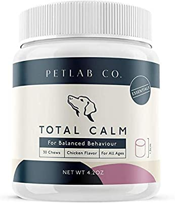 Petlab Co. Total Calm Chews for Dogs Composure   Melatonin Dog Anxiety Relief Bites   Peaceful Pup Calm Stress Rescue Remedy Aid from Connolly's RED MILLS