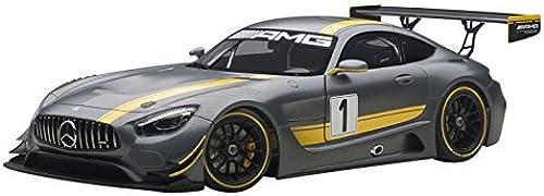AUTOart 81530 Mercedes-Benz AMG GT3 Presentation denn Echelle 1 18 Grau Gelb
