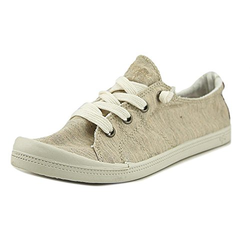 Jellypop Dallas Womens Slip On Sneakers Natural Fabric 8.5