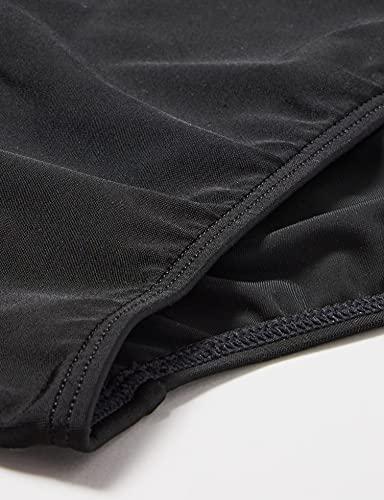 adidas Fitness 3 Bandas Bañador Slip, Hombre, Negro (Black/White), 4