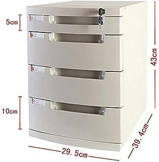 Classeurs Papier A4 Bureau Extension Fichier Famille Armoire de Bureau tiroirs Armoire de Rangement verrouillables Boîte d...